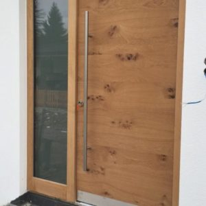 Haustür Naturholz